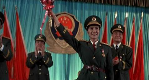 Michelle Yeoh, winning beauty pageants even in the army