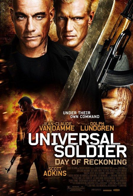 Universol Soldier Day Of Reckoning poster